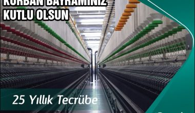 Melike Tekstil Kurban Bayramı Kutlama