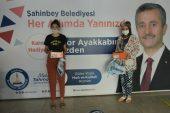 ŞAHİNBEY'NDEN KARNE HEDİYESİ 150.000 SPOR AYAKKABI