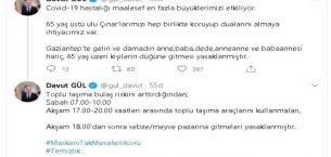 Vaka sayısının arttığı Gaziantep'te yeni yasaklar geldi