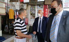 CHP GAZİANTEP MİLLETVEKİLLERİ KİLİS'TE ESNAFIN SORUNLARINI DİNLEDİ