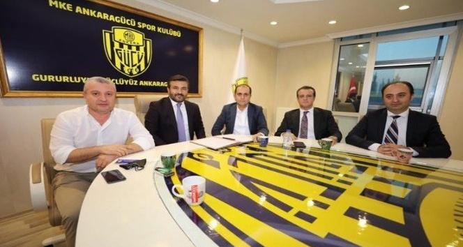 Mahmood Coffee Ankaragücü'nün forma sponsoru oldu