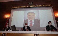 Şahinbey Meclisi Hasan Türk'ü unutmadı