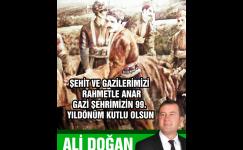 Ali Doğan 25 Aralık Mesajı