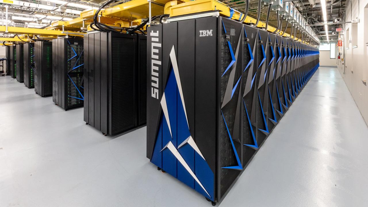 summit ibm süper bilgisayar