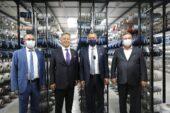 TİM Başkanı Gülle Gaziantepli halıcıları kutladı