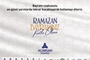 Acarsan Ramazan Bayramı Kutlama