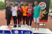 ATLETLER, TÜRKİYE U20 ŞAMPİYONASI'NA DAMGA VURDU!
