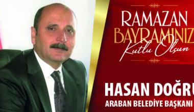 Hasan Doğru Ramazan Bayramı Kutlaması