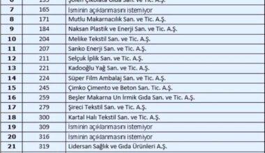 Türkiye nin 500 büyük sanayi kuruluşundan 29 u Gaziantep ten