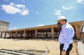 Fadıloğlu, Gaziler Gençlik Kütüphanesi'ni inceledi