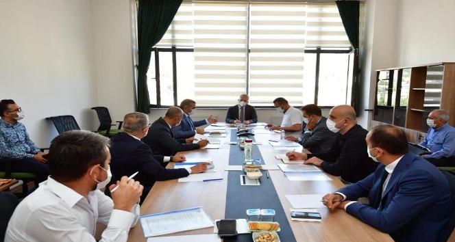 İslahiye OSB için Vali Gül tarafından değerlendirme toplantısı yapıldı