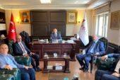 GAİMDER Başkanı Kanevetçi, Ankara'da görüşmeler yaptı