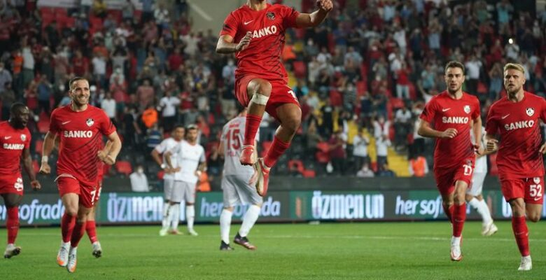 Gaziantep FK'nin Demir i var