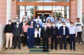 Erdoğan Oğuzeli İlçesinde Ziyaretlerde Bulundu
