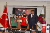 GKV'li satranç turnuvası kahramanları, ödüllendirildi