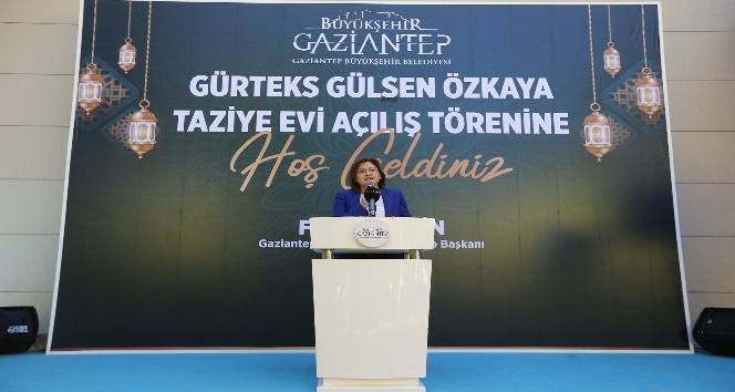 Gülşen Özkaya taziye evi törenle hizmete açıldı