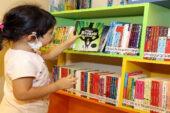 Türkiye'nin ilk AVM çocuk kütüphenesi yoğun ilgi görüyor