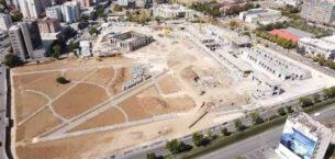 Gaziantep Millet Bahçesi'nin yüzde 50'si tamamlandı