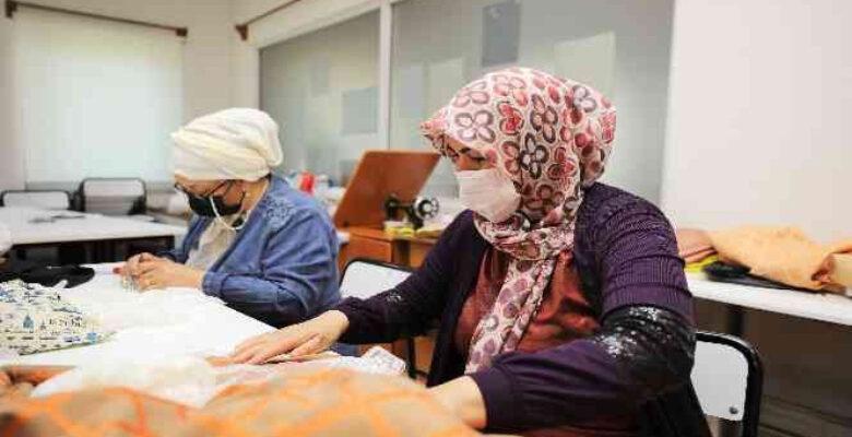 Geleneksel el nakışları Şehitkamil'de yaşatılıyor