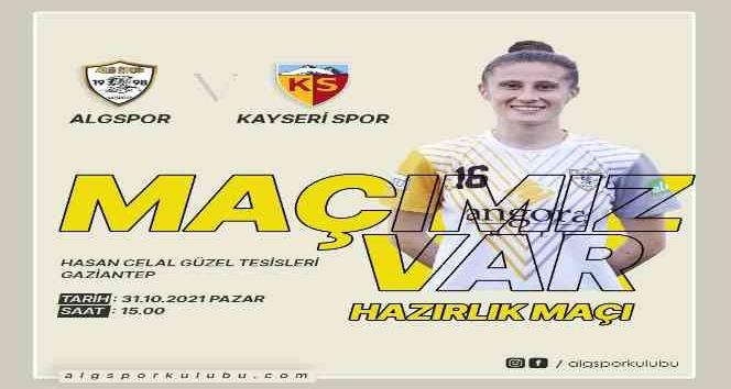 Hazırlık maçında Kayserispor'u ağırlayacaklar