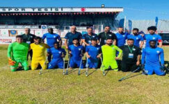 Şahinbey Ampute Futbol Takımı kupaya yürüyor